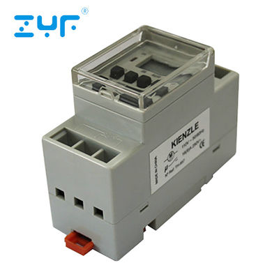 General Purpose Electronic Timer Plug  DIN Rail Installation 230V Max Voltage