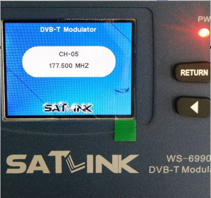 1 Route HDMI To DVB T Modulator Satlink Meter WS-6990  AV / HD Terrestrial Finder
