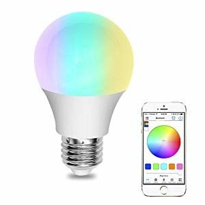 Color Change WB3 Wifi LED Bulb IOS / Android Smart Phone Control